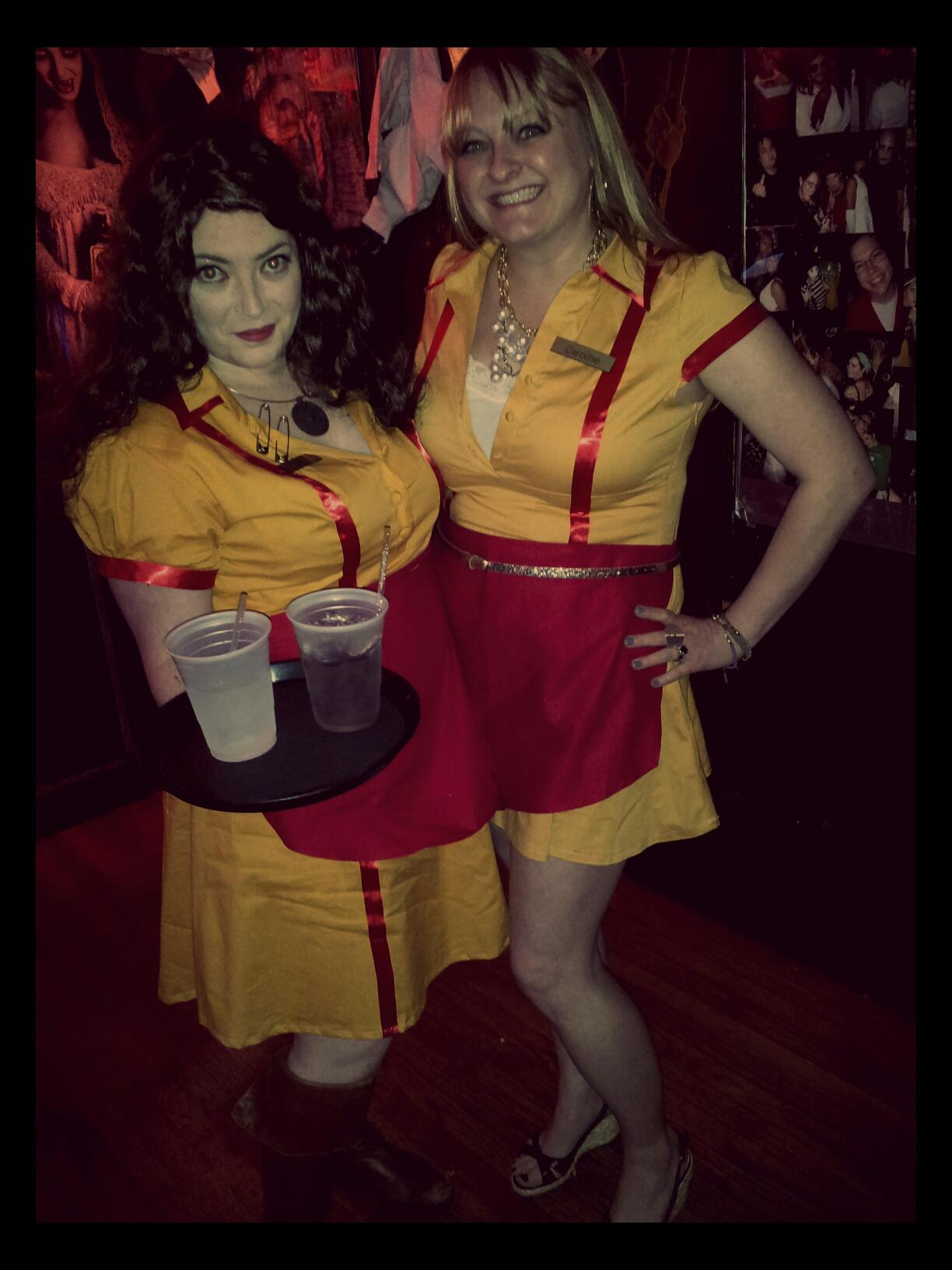 3 anatomy of a 2 broke girls halloween costume - 3 Girl Costumes Halloween
