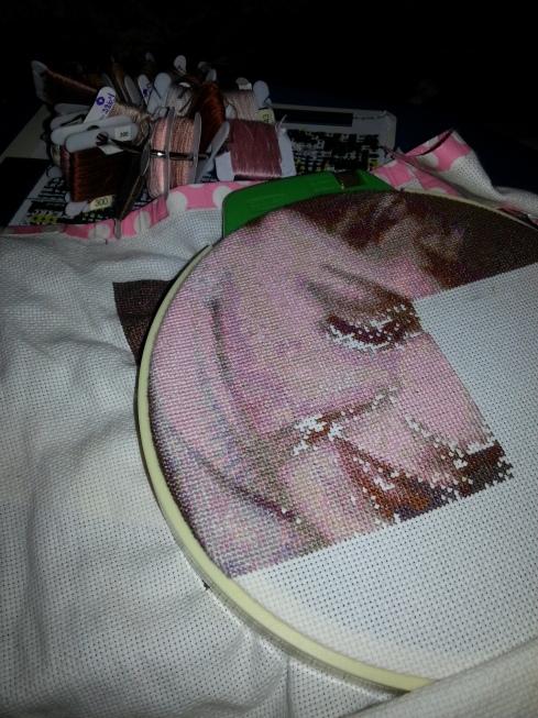 I'm Still Alive....I've Been Cross Stitching. Don't Be Jealous.